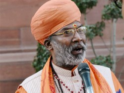 I M A Monk Will Curse You If You Don T Vote For Me Warns Bjp Mp Sakshi Maharaj