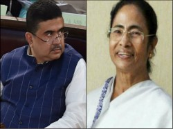 Mamata Banerjee Praises Subhendu Adhikari To Ahead In Adhir S Fort