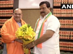 Congress Leader P Sudhakar Reddy Joins In Bjp Before Lok Sabha Election