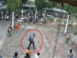 Srilanka Blast Update Cctv Footage Of Suspected Suicide Bomber Released