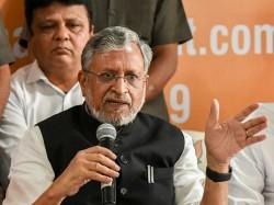 Bihar Bjp Leader Sushil Modi To File Defamation Case Against Rahul Gandhi