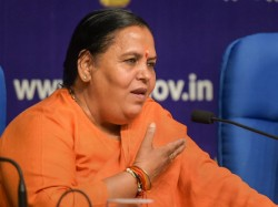 India Will See Priyanka Gandhi Vadra As A Thief S Wife Says Uma Bharti