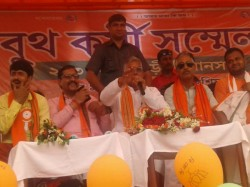 Dilip Ghosh Attacks Tmc Says Will Be Beaten If Tries To Loot Votes