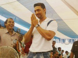 Ghatal Tmc Candidate Dev Searches Victory In His Own Village