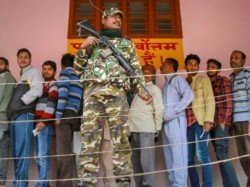 Central Force In 80 Polling Booth Of Raiganj