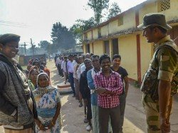 People Walking 12 Kilometres To Cast Votes Despite Maoist Warnings This Is Success Indian Democracy