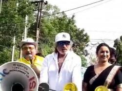 Joy Sreeram Slogan In Tmc S Madan Mitra S Rally In Bhatpara