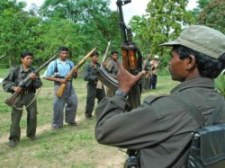 Body Of A Naxal And One Ak 47 Recovered From Gaya S Lutua