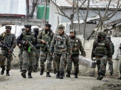 One Terrorist Killed And Four Other Havebeen Cornered In Kulgam