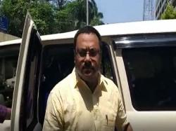 Ips Arnab Ghosh Present Before Cbi At Cgo Complex In Saltlake
