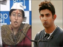 Tearful Atishi Accuses Gambhir Of Circulating Obscene Pamphlets