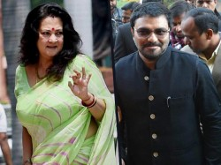 Babul Supriyo Criticizes Munmun Sen As Entertainer In Vote Politics