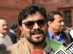 Bjp Leader Babul Supriya Criticises Mamata Banerjee From His Purulia Meeting