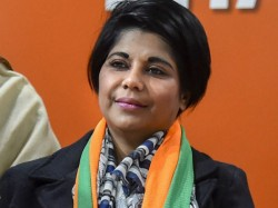 Police Lodged Suo Moto Case Against Bjp Mp Bharati Ghosh