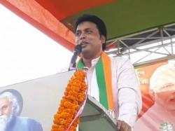 Tripura Cm Biplab Deb Criticised Mamata Banerjee From His Basirhat Meeting