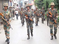 Central Forces Also Attacked In Birbhum To Stop Clash Between Tmc And Bjp