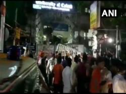 Demonstration On Protesting Against The Demolition Of Vidyasagar Statue By Several Left Organisation