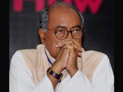 Congress Leader Digvijaya Singh Failed To Cast His Vote Due To His Busyness In Bhopal