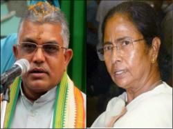 Dilip Ghosh Criticizes Mamata Banerjee On Joy Sri Ram Slogan