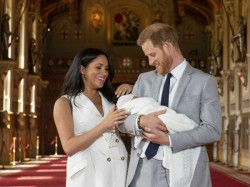Prince Harry And Megan Presented Their Newborn Baby To The World