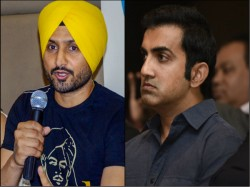 Harbhajan Backs Gambhir On Atishi Row Says He Can Never Talk Like That