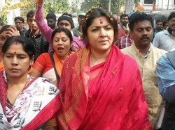 Bjp Candidate Locket Chatterjee Demands Re Poll Over 100 Booths