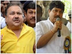 Tmc Leader Madan Mitra Targets Bjp Candidate Arjun Singh From Amdanga Meeting