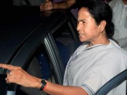 Cm Mamata Banerjee Dropped From The Car Hear Jai Sriram