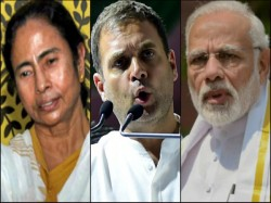 Rahul Gandhi Is Silent To Mamata But Attacks Only Narendra Modi