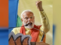 Ab Ki Baar 300 Paar Pm Modi Coins New Slogan Before Rally Ends For Lok Sabha Elections