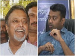 Bjp Leader Mukul Roy Advices Son Subhrangshu Before Barakpur Election