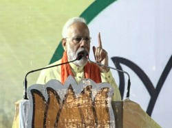 From His Last Rally In The State Pm Modi Attacks Mamata Banerjee From Dumdum