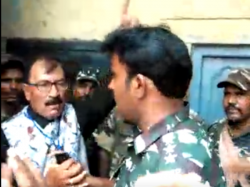 Central Force Keeps Howrah Candidate Prasun Banerjee Out Of The Booth