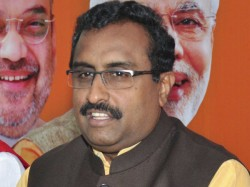 We Have The King So We Do Not Need Any Kingmakers Said Bjp Leader Ram Madhav