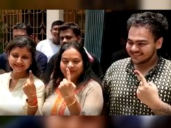 Ratna Chatterjee Reaction On Husband Sovan Chatterjee After Voting
