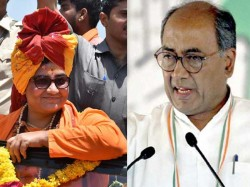 Election Commission Sends Notice To Digvijaya Singh Sadhvi Pragya Singh Over Election Expenditure