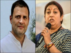 Rahul Gandhi Ensuring Booth Capturing In Amethi Alleges Smriti Irani