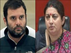 Rahul Gandhi Facing Tough Challenge In Amethi May Lose To Smriti Irani