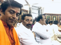 Newly Elected Bjp Mps Failed To Control Emotion Are Posting Pics That Goes Viral