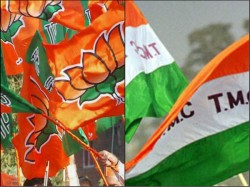 Clash Between Tmc And Bjp In Birbhum Over Joy Shree Ram Slogan