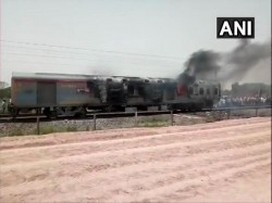 Fire Breaks Out In Kamakhya Express In Uttar Pradesh