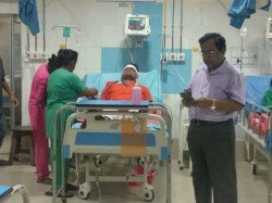 Bjp Candidate From Bongaon Shantanu Thakur Seriously Injured In A Road Accident