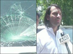 Tej Pratap Yadav S Personal Security Guards In Patna Beat A Camera Person See Video