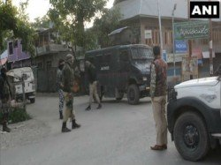 One Terrorist Killed In Encounter With Security Forces In Kulgam