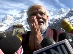 Narendra Modi Wakes Up After 17 Hrs Meditation Here What He Said