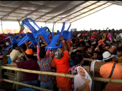 Chaose In Modi S Meeting Of Purulia Here Is The Video