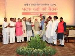 Nda Allies Pledge Support To Pm Modi In 5 Star Meet Called By Amit Shah