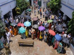One Person Casts Vote Twice In Purulia West Bengal