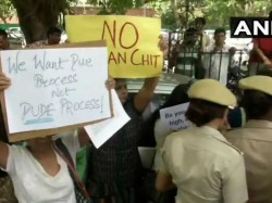Section 144 Outside Sc After Protests Against Clean Chit To Cji Ranjan Gogoi