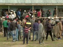 School Buildings Designated As Polling Booths Set Afire In Jammu And Kashmir Shopian